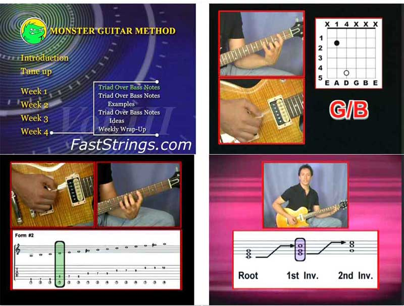 Monster Guitar Method Vol. 3 - Novice/Intermediate