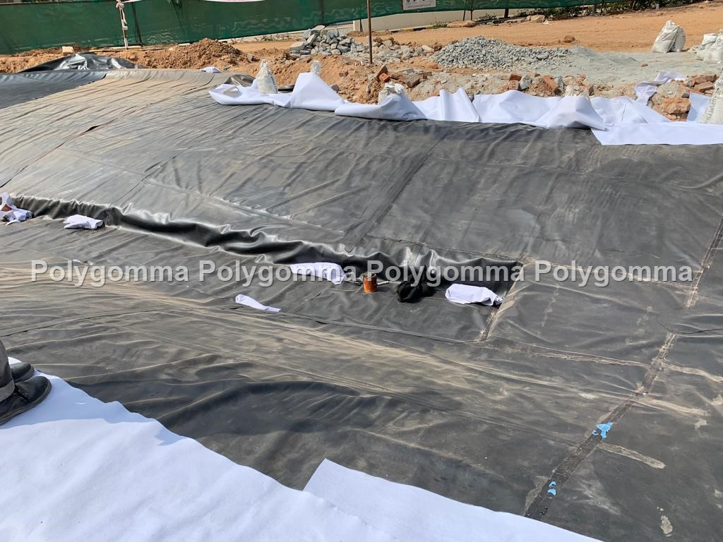 Polygomma EPDM waterproofing membrane and pond liner