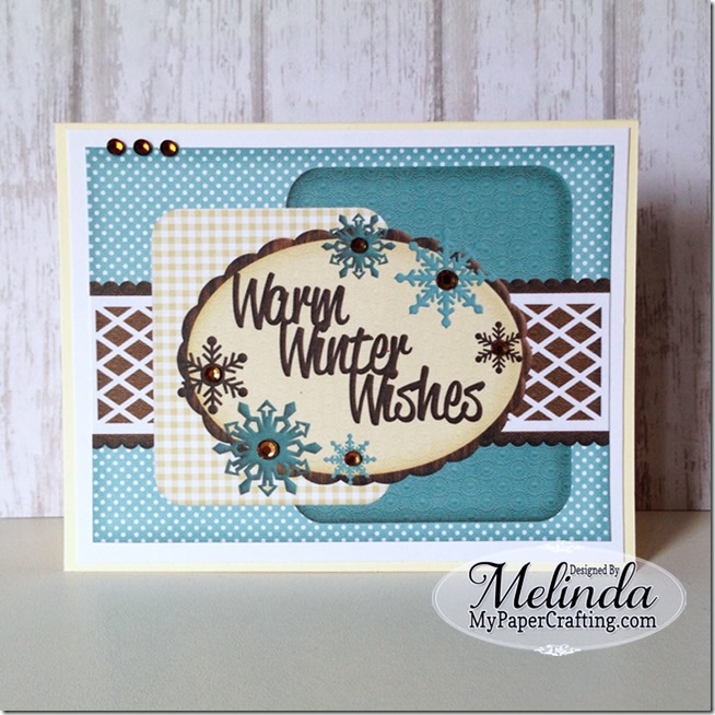 printable card front digital hybrid Melinda Beltran