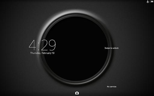 XPERIAu2122 Black Steel Theme  screenshots 5