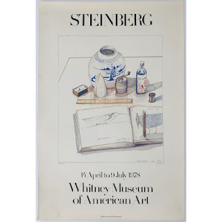 Saul Steinberg Exhibition Poster