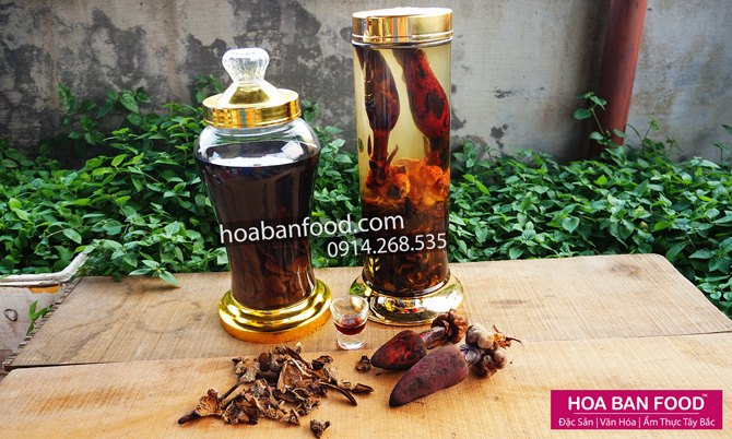 Rượu Nấm Ngọc Cẩu | HOA BAN FOOD™