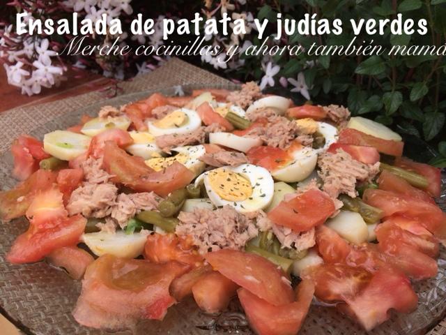 Ensalada de patata y jud as verdes con thermomix y de - Tiempo coccion judias verdes ...
