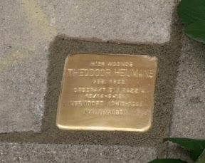 Theodoor Heijmans - Oldenzaalsestraat 211. Stolpersteine Enschede
