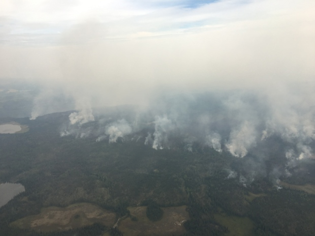 The Plateau wildfire in August 2017 is considered to be the largest ever recorded in British Columbia history. Photo: B.C. Wildfire Management