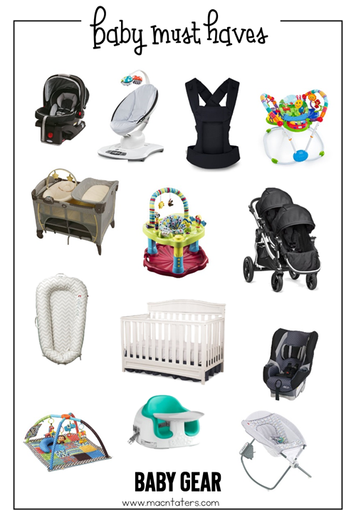 Baby Gear Baby Must Haves