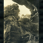 The Giant Stairway Katoomba 1935 Harry Phillips (93886)