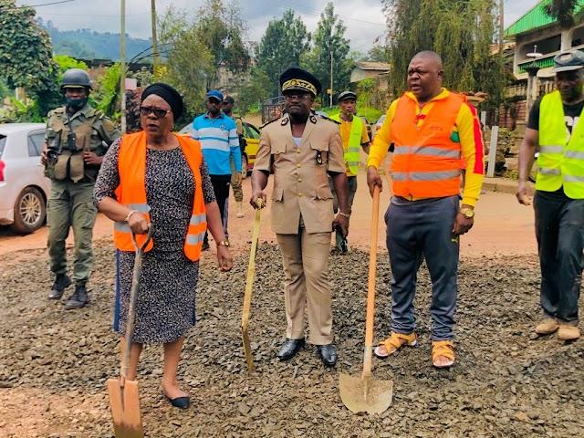 Smiles as Bamenda II Council Makes road passable