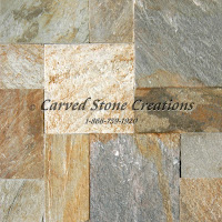 Palatial Versailles Paver Pattern Serengeti Gold Quartzite.  Natural Cleft Finish. 36 SF per set.