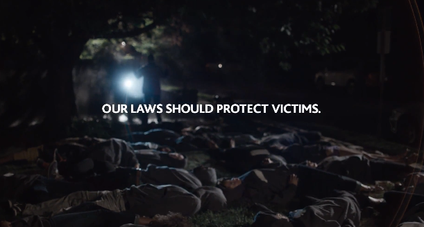 "Powerful PSA ""Stand Up to ""Stand Your Ground"" via Coalition to Stop Gun Violence"