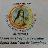 Solenidade de Santa Teresinha II