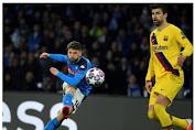 Napoli Vs Barcelona, Bermain Imbang 1-1
