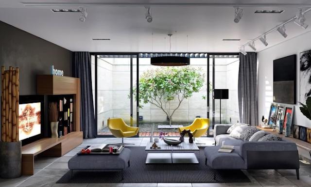 20 Mẫu phòng khách hiện đại và sang trọng
