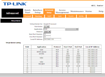 TP-link advanced setup