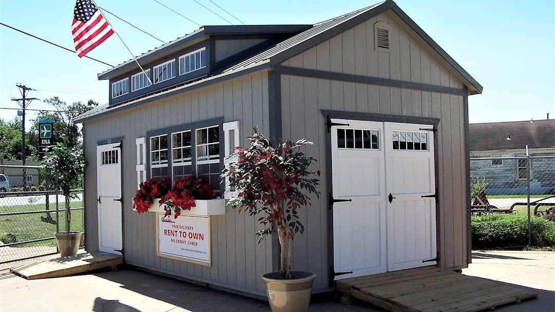 Header image for the site - Thrifty Backyard Portable Buildings-Rent-2-Own - Portable Building