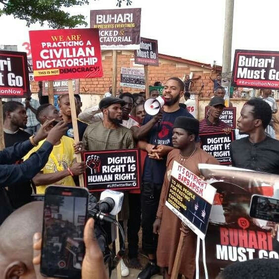 See Photos of June 12 protesters in Abuja