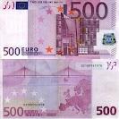 Це проблема зору чи бачення?  Не бачу копійок, лише купюри в 500 євро.