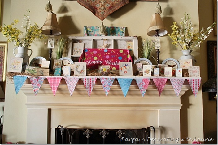 Birthday Party Decor-Bargain Decorating with Laurie