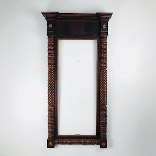 Turned Mahogany Frame