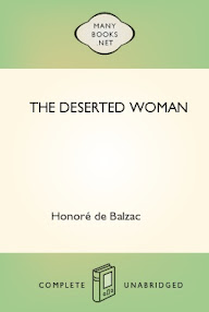 Cover of Honore De Balzac's Book The Deserted Woman