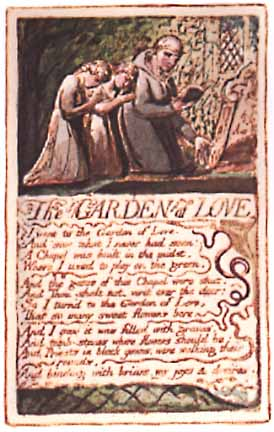 The Garden Of Love By William Blake, William Blake