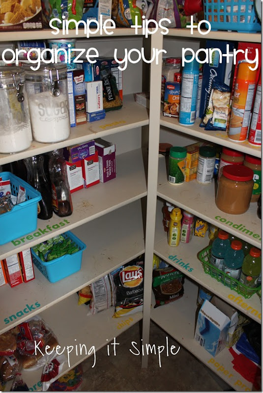 #ad Simple-tips-to-organize-your-pantry #AHugeSale