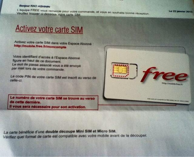 format carte sim free Ashwin's Blog: Mini sim et Micro sim Free Mobile France