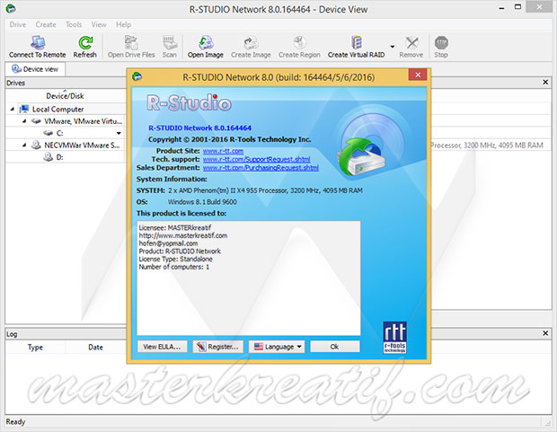R-Studio 8.0 Full Crack Key | MASTERkreatif