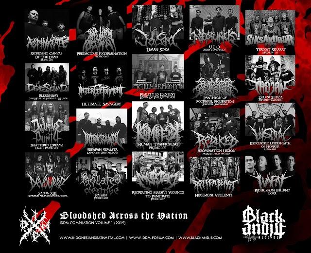 """Blackandje Records Resmi Merilis Kompilasi Bertajuk """"Indonesia Death Metal"""""""
