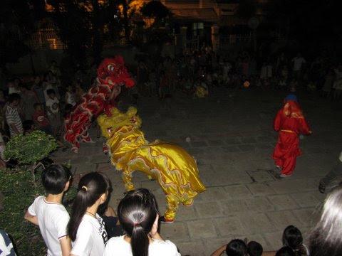 Hình ảnh giáo xứ Khiết Tâm vui hội Trăng Rằm