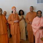 Chanting Shanti Mantras