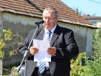 11 Bálint Péter, Ipolybalog polgármestere köszönti az ünnepség résztvevőit.JPG