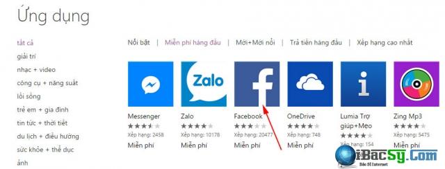 tải ứng dụng windows phone 10