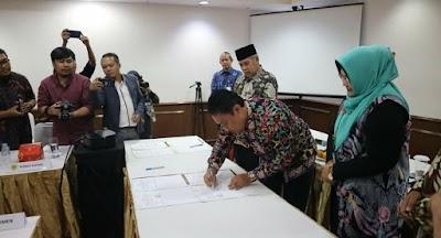 Jalin Kerjasama, Pemkab Pulpis Teken MoU Sarana Media Publik