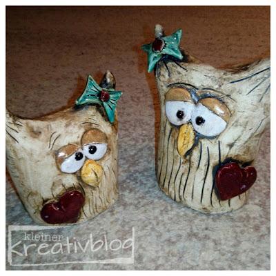 kleiner-kreativblog: Keramikeulen
