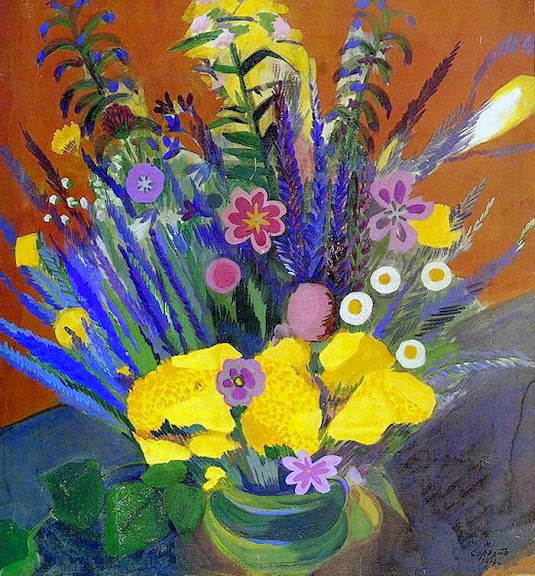 Martiros Saryan - Flowers of Armenia, 1916