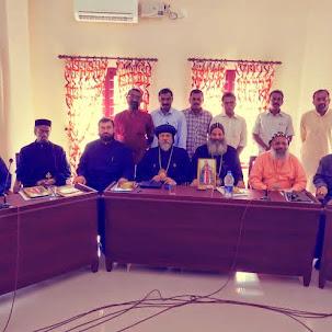 OCP Delegation with Oriental Orthodox Prelates