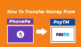How To Transfer Money From Phonepe To Paytm