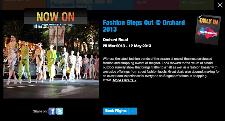 Fashion Steps Out Happening in Singapore