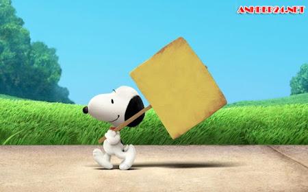 Hình nền chú cún dễ thương Snoopy dành cho desktop