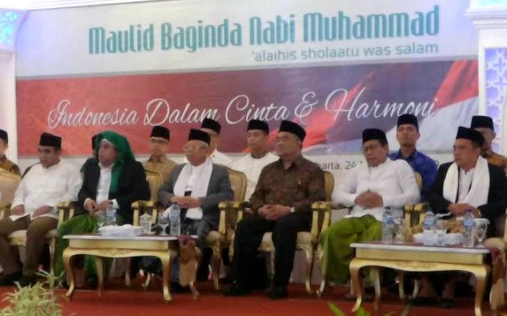Wapres RI Dan Menteri Desa PDTT Hadiri Maulid Nabi Di Yogya