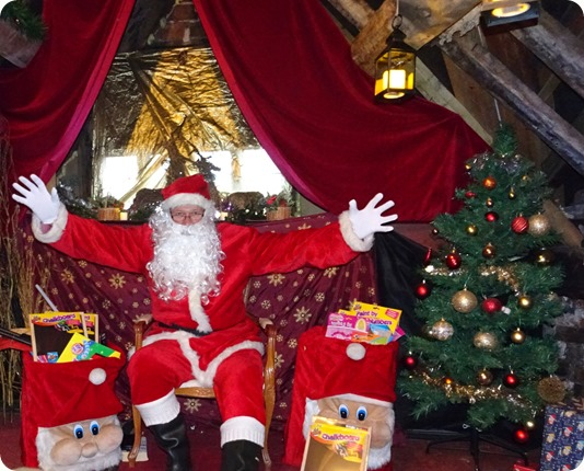 Publicity photo - Rotary Club of Nantwich – Santas Grotto
