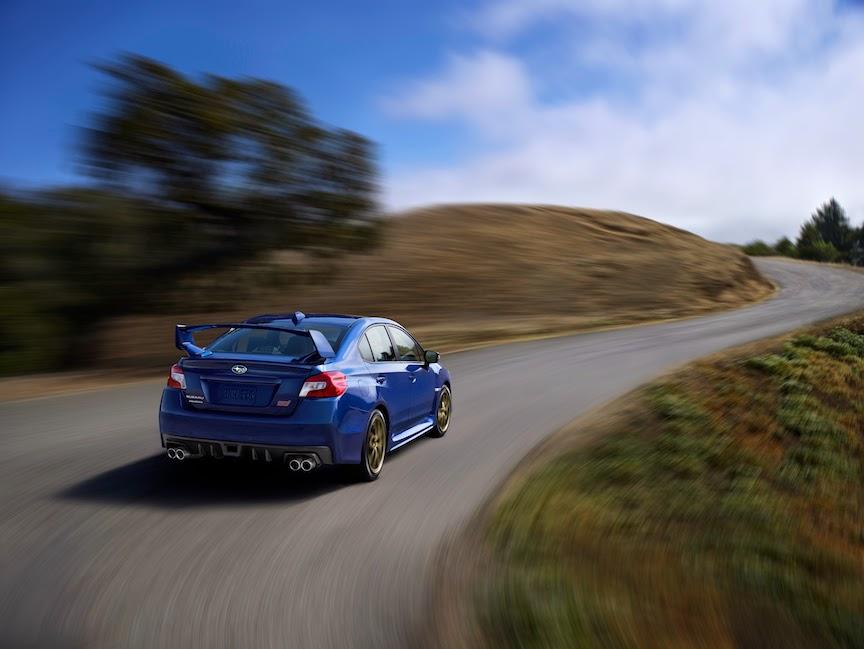 2015 Subaru WRX STI Road