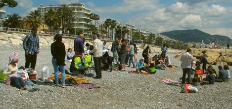 Beach picnic 08