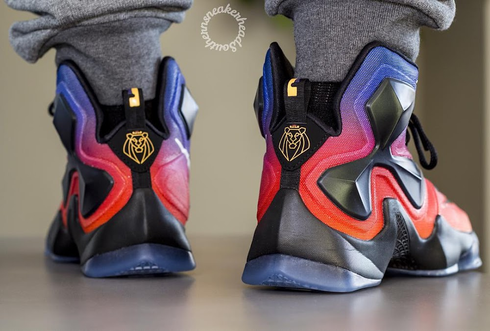 finest selection 0e660 2985b ... A Rare Look at the Doernbecher LeBron 13 Out in the Wild ...