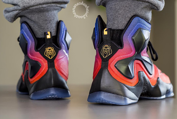 big sale 365bd 6a983 A Rare Look at the Doernbecher LeBron 13 Out in the Wild ...