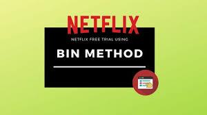 how to get netflix premium with bin