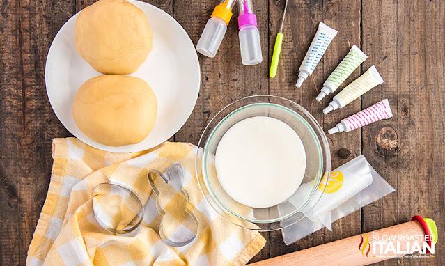Ingredients Soft Easter Sugar Cookies