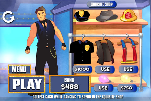 Magic Mike app art by Stephen Downey
