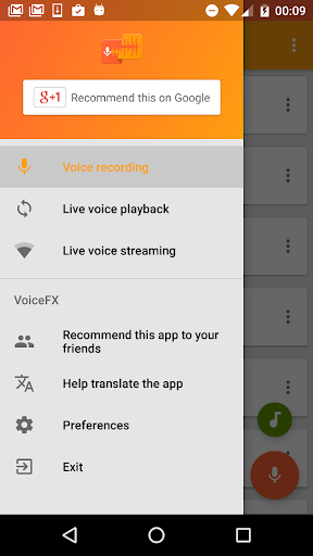 VoiceFX - Voice Changer with voice effects 1.1.0h screenshots 2